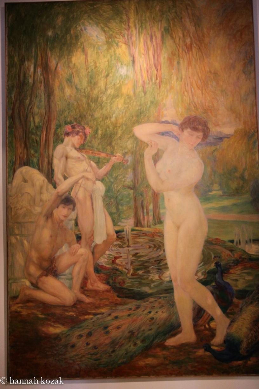 """""""Chant a la Beaute-1909"""" by Clementine Helene Dufau"""