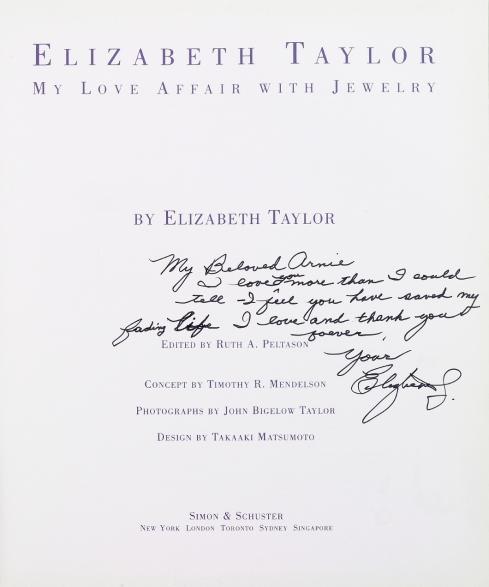 Elizabeth Taylor - My Love Affair with Jewelry