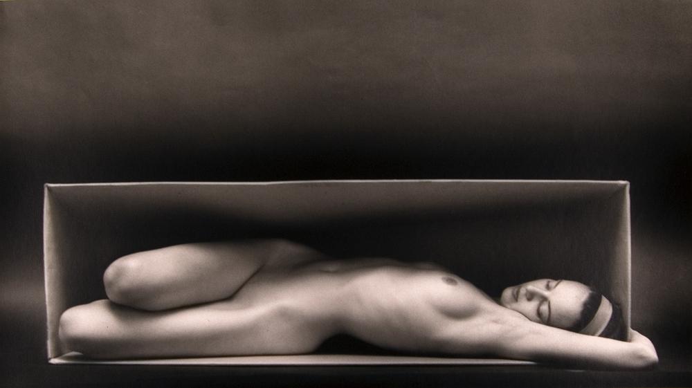 Ruth Bernhard - In The Box- Horizontal , 1962