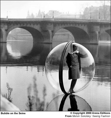 Melvin Sokolsky-Bubble on the Seine