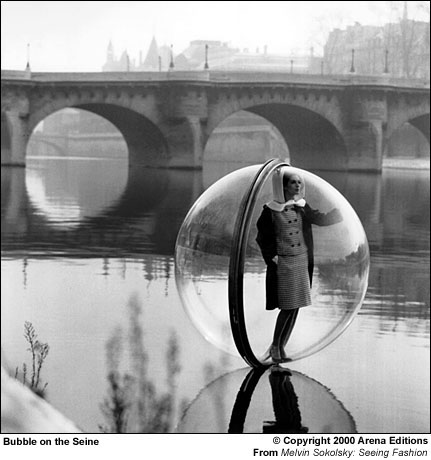 Melvin Sokolsky-Bubble on the Seine