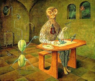 Remedios Varo- Creation of the Birds