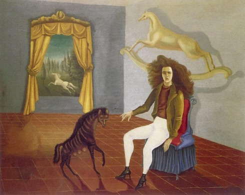Leonora Carrington -Self portrait