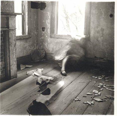 Francesca Woodman - House #3, Providence, Rhode Island, 1976