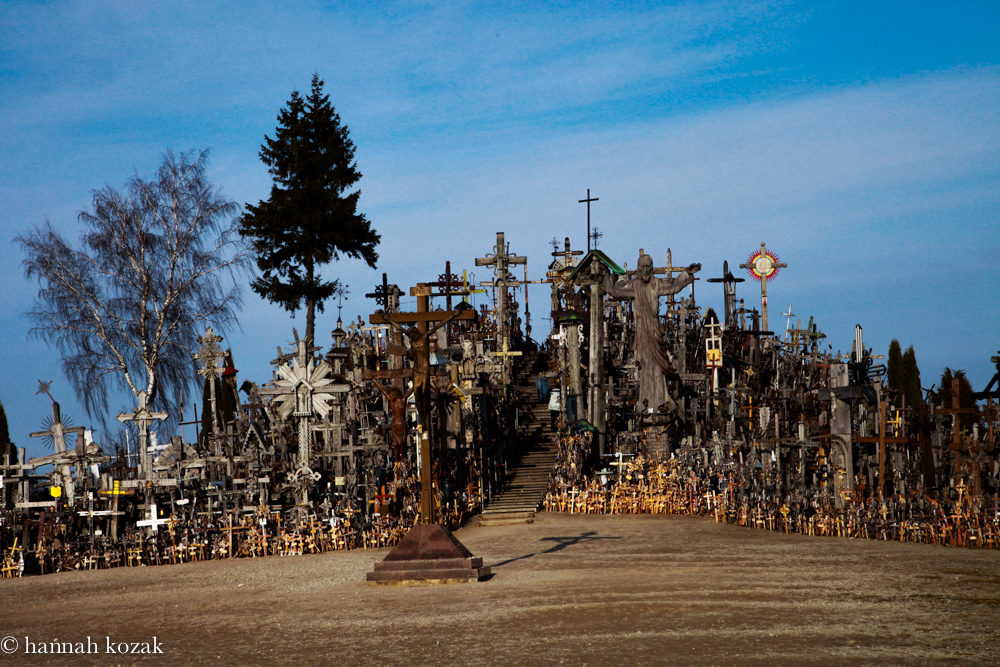 Entrance to The HIll of Crosses