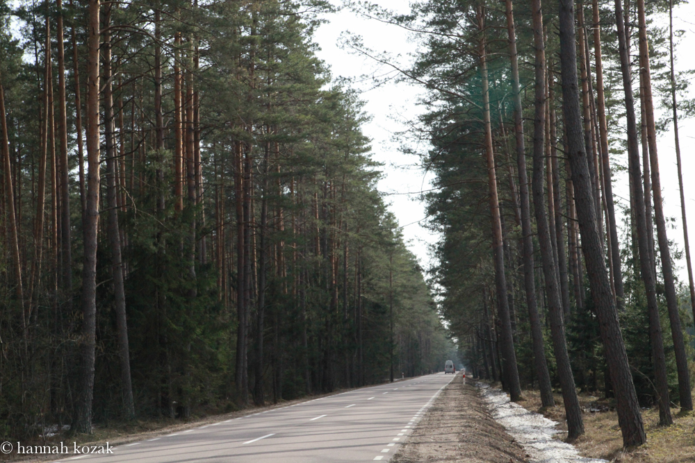 The Road from Poland to Lithuania