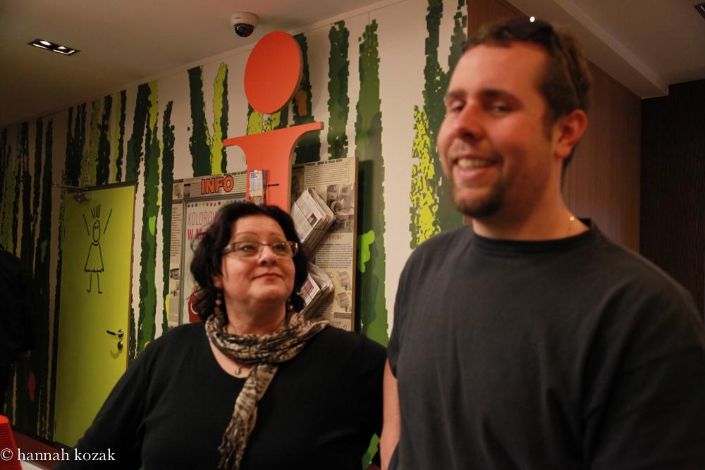 Hannah & her son, Bartek