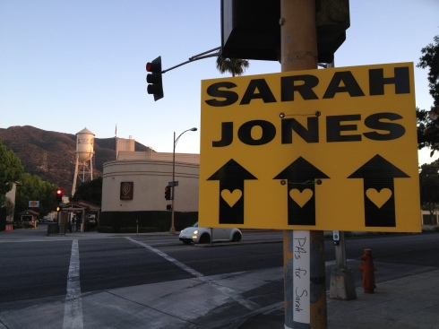 Sarah Jones - Warner Brothers