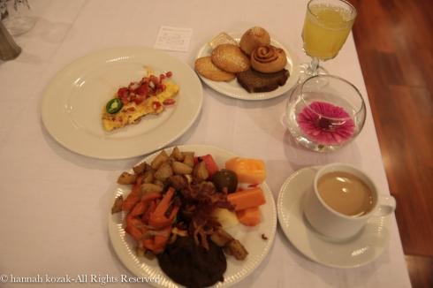 Breakfast - desayuno @ Hotel Barcelo