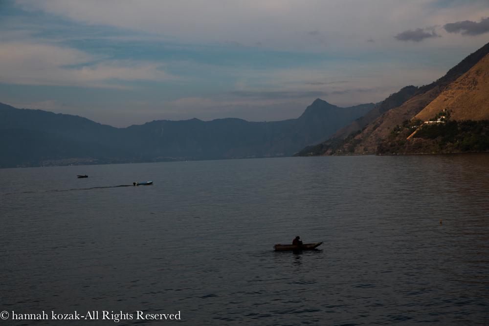 View from Laguna Lodge Eco-Resort, Santa Cruz, Lake Atitlan