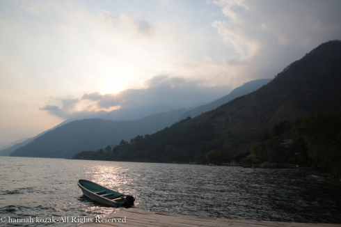 View from   , Lake Atitlan, Guatemala