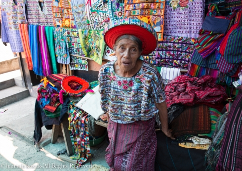 Woman @ Santiago, Lake Atitlan, Guatemala