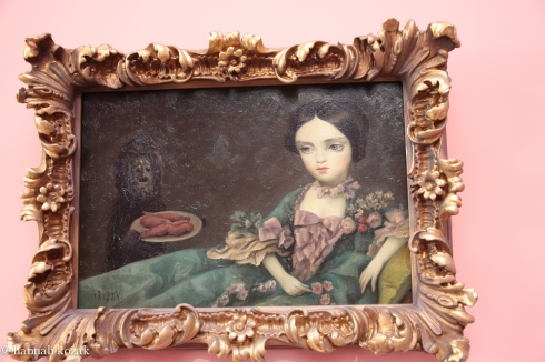 Mark Ryden, Medium Yams, No. 102, 2012, oil on panel