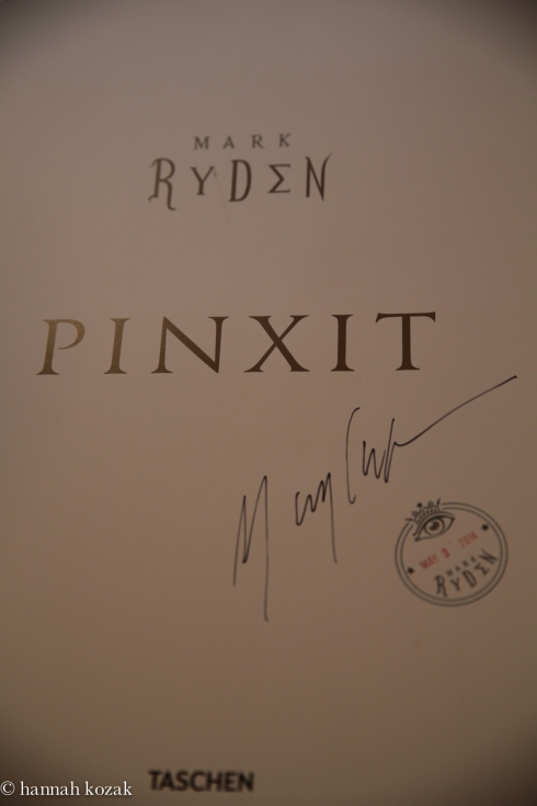 Mark Ryden autograph & special stamp