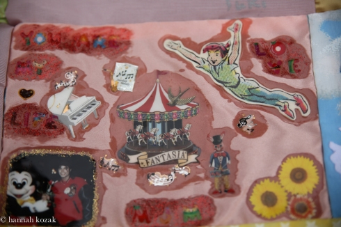 From Japanese quilt