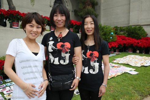 L to R: Yoku Kimura, Makie Yamamoto, Tomoko Fukuda