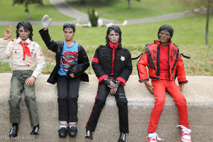 Michael dolls from Japan