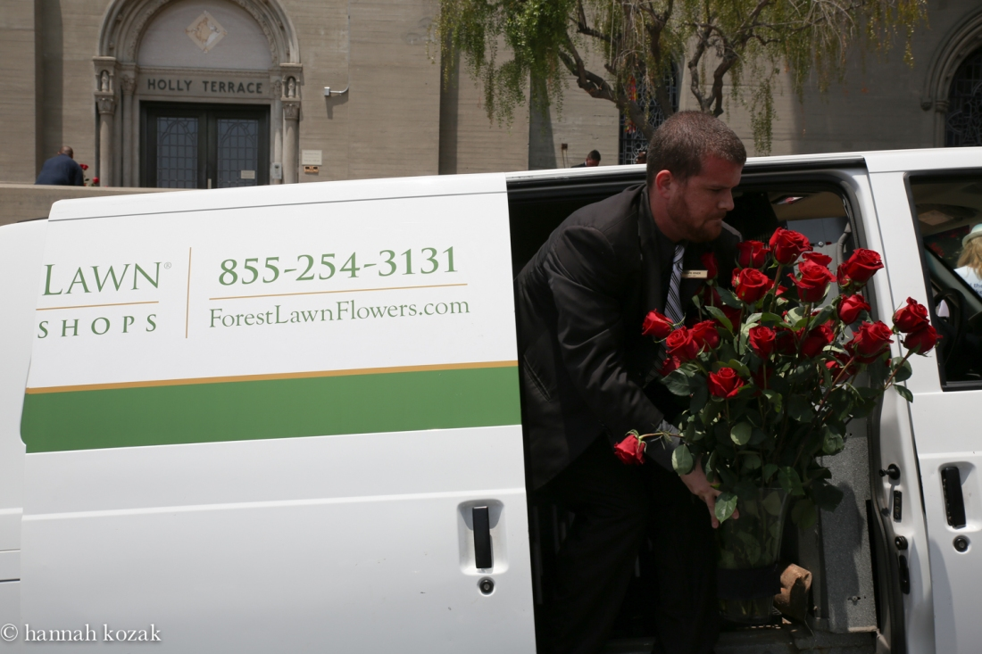 More flowers for Michael!