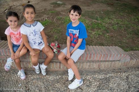 Children - Nirja, Spain