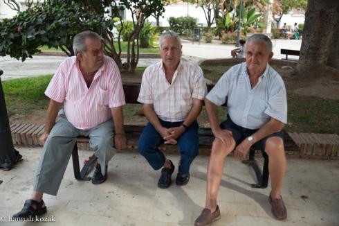 Men in Nirja, Spain