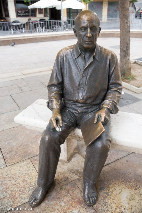Picasso in Málaga, Spain