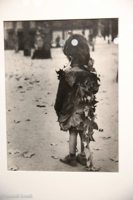 Edward Boubat Little Girl with Dead Leaves, 1946-47/1940's