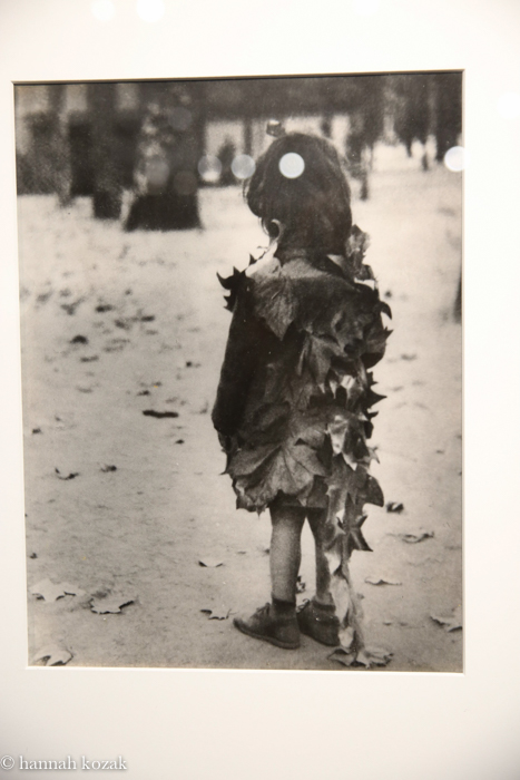Edward Boubat Little Girl with Dead Leaves, 1946-47/1940's