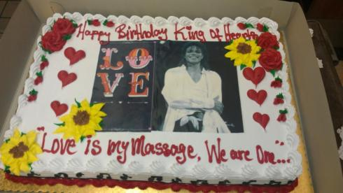 Cake for Michael Jackson - 29 August 2015